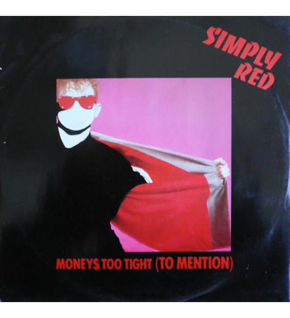 """Simply Red - Money$ Too Tight (To Mention) (12"""") mesvinyles.fr"""