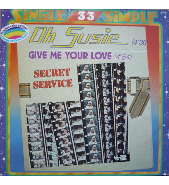 "Secret Service - Oh Susie / Give Me Your Love (12"", Bla) mesvinyles.fr"