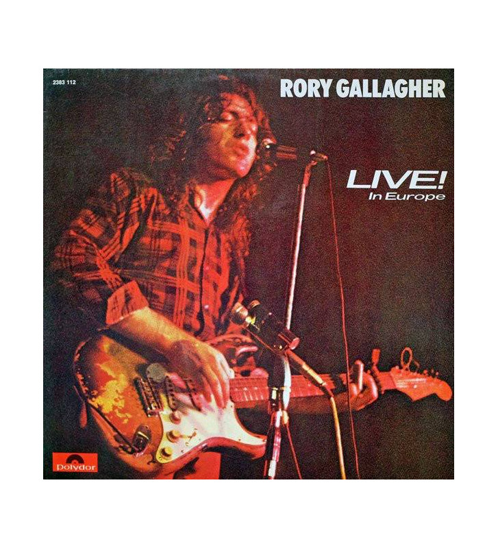 Rory Gallagher - Live! In Europe (LP, Album) mesvinyles.fr