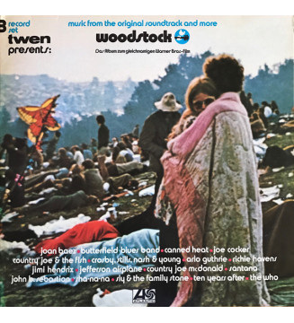 Various - Woodstock - Music From The Original Soundtrack And More (3xLP, Album, RE)
