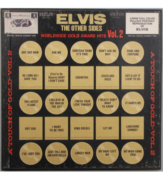 Elvis Presley - The Other Sides - Worldwide Gold Award Hits - Vol. 2 (4xLP, Comp, Mono, Dyn + Box) mesvinyles.fr