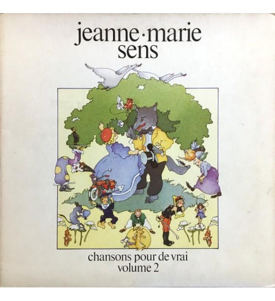 Jeanne-Marie Sens - Chansons Pour De Vrai Volume 2 (LP, Album) mesvinyles.fr