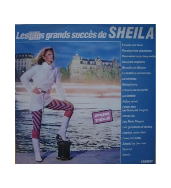 Sheila (5) - Les Plus Grands Succès De Sheila (LP, Comp) mesvinyles.fr