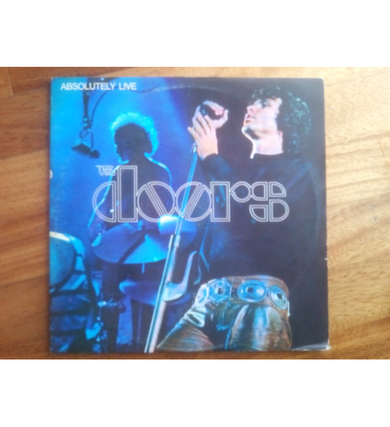 The Doors - Absolutely Live (2xLP, Album, RE, Aut) mesvinyles.fr