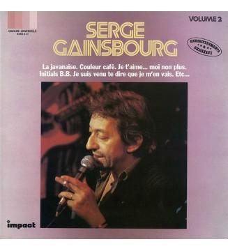 Serge Gainsbourg - Serge Gainsbourg Volume 2 (LP, Comp)