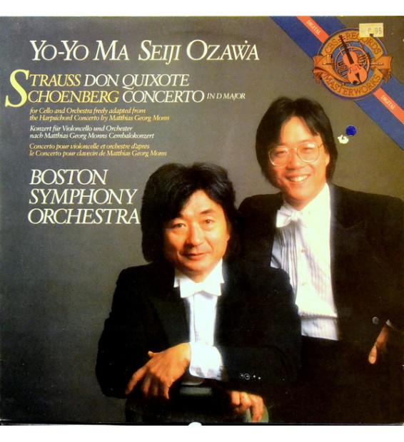 Yo-Yo Ma - Seiji Ozawa - Boston Symphony Orchestra - Strauss* - Schoenberg* - Strauss Don Quixote - Schoenberg Concerto In D Ma