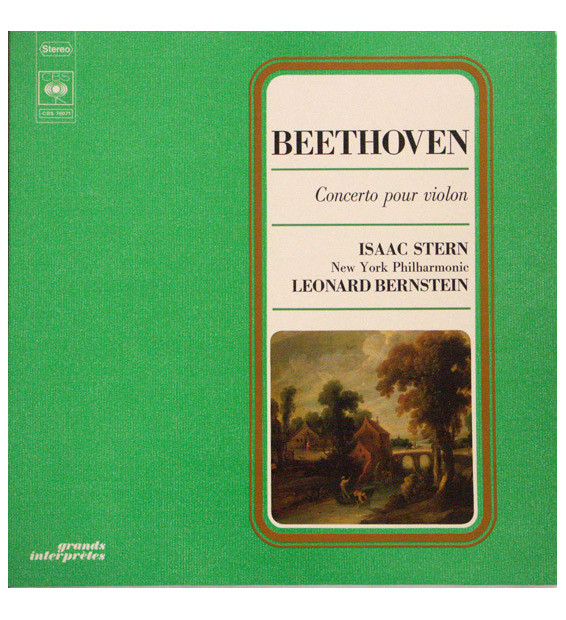 Beethoven* - Isaac Stern, New York Philharmonic*, Leonard Bernstein - Concerto Pour Violon & Orchestre En Ré, Op. 61 (LP, RE, G