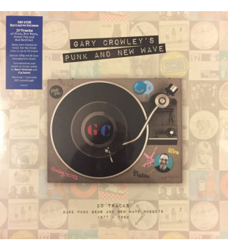 Gary Crowley - Punk And New Wave (LP, Comp, Red + LP, Comp, Blu) BLACK FRIDAY 2019 mesvinyles.fr