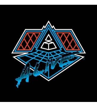 Daft Punk - Alive 2007 (2xLP, Album, Mixed) mesvinyles.fr