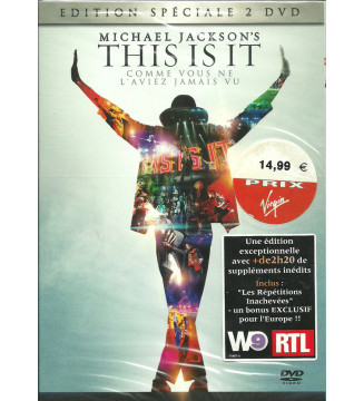 Michael Jackson - This Is It (DVD-V, Copy Prot., Multichannel, PAL) mesvinyles.fr
