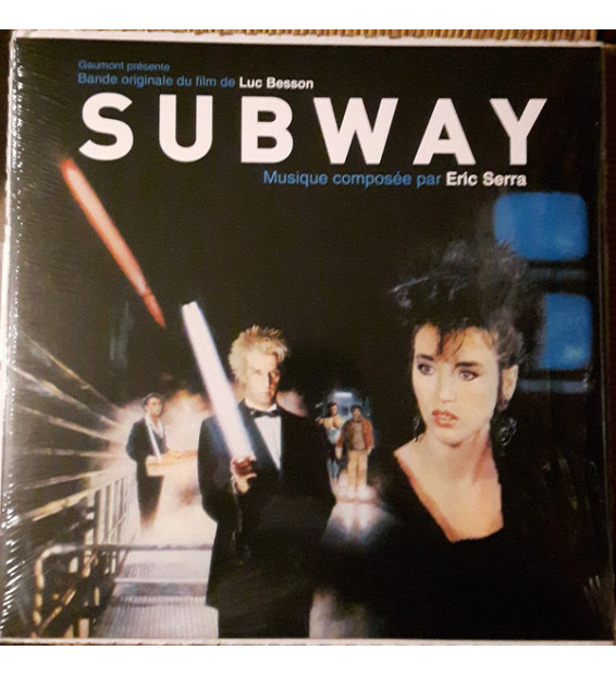 """Eric Serra - Bande Originale Du Film """"Subway"""" (LP, Album, RE) mesvinyles.fr"""