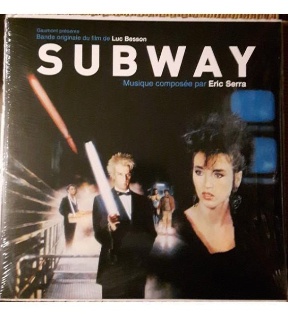 """Eric Serra - Bande Originale Du Film """"Subway"""" (LP, Album, RE)"""