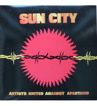 Artists United Against Apartheid - Sun City (LP, Album) mesvinyles.fr