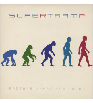 Supertramp - Brother Where You Bound (LP, Album)