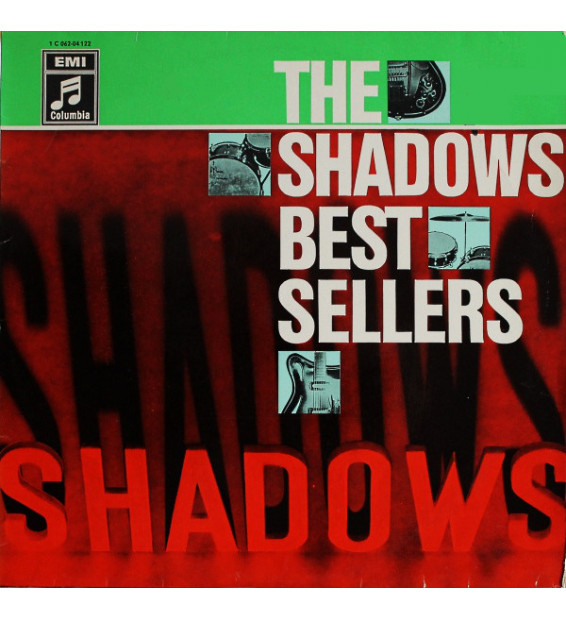 The Shadows - The Shadows' Bestsellers (LP, Comp, Mono, RE)
