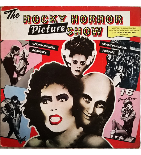 The Rocky Horror Picture Show - The Rocky Horror Picture Show - Original Sound Track (LP, RE)