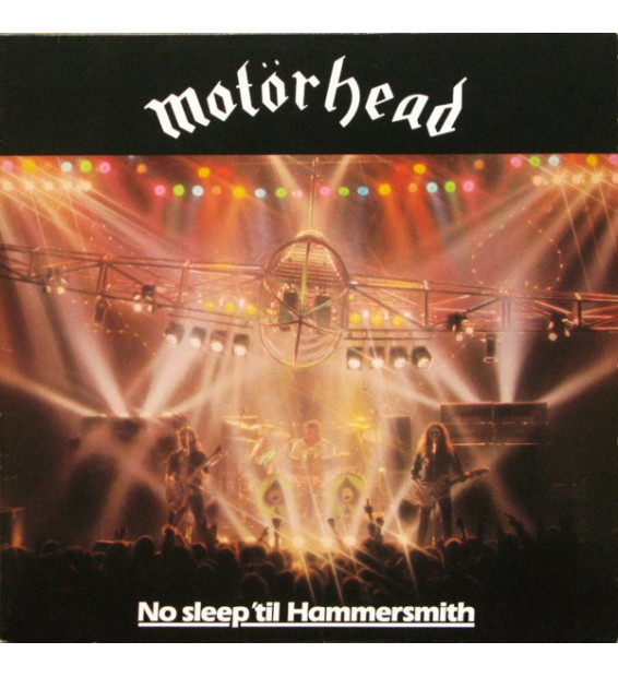 Motörhead - No Sleep 'til Hammersmith (LP, Album)