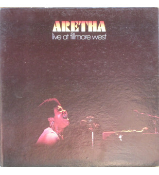 Aretha Franklin - Live At Fillmore West (LP, Album, Pre)