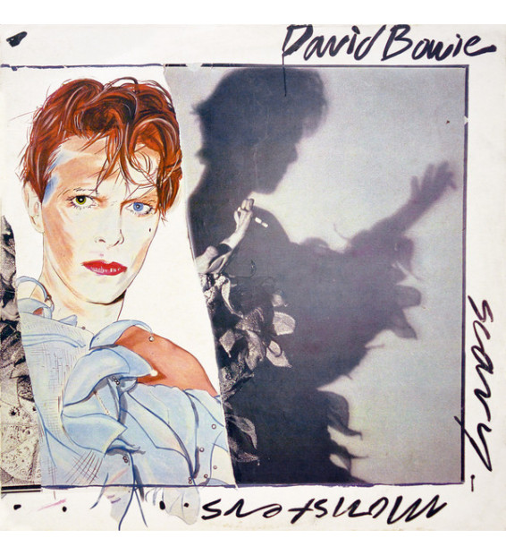 David Bowie - Scary Monsters (LP, Album) mesvinyles.fr