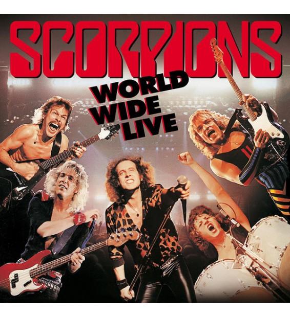 Scorpions - World Wide Live (2xLP, Album, 180 + CD, Album + Dlx, RE, RM)