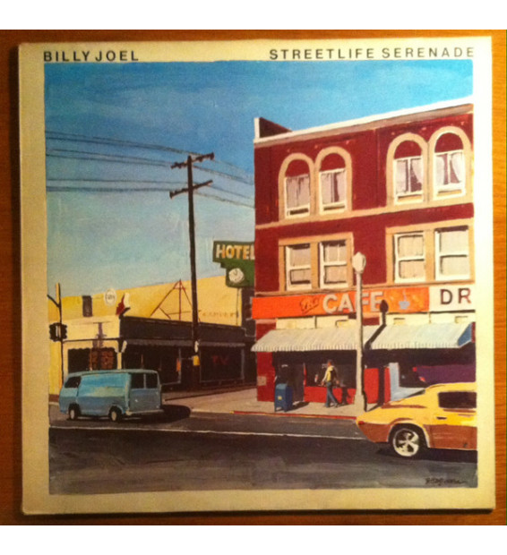 Billy Joel - Streetlife Serenade (LP, Album)