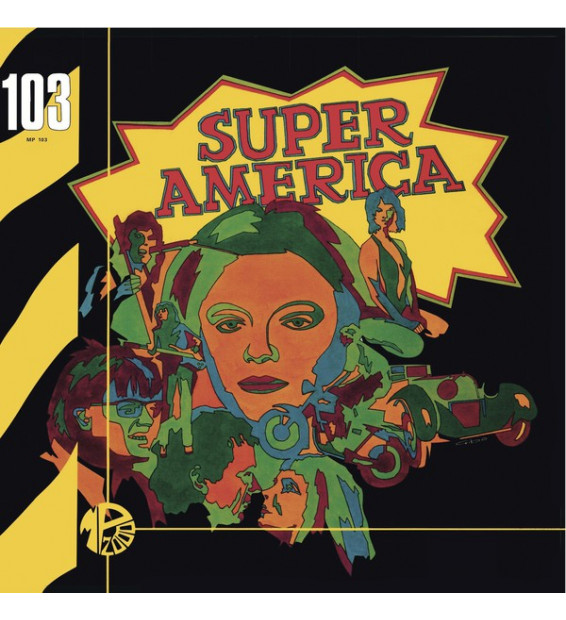 Janko Nilovic - Super America (LP, Album, RE)