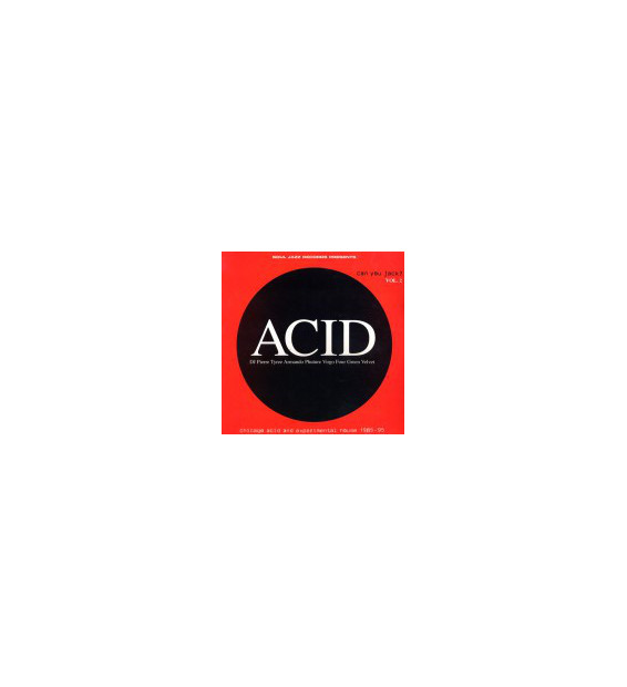 "Various - Acid: Can You Jack? Vol. 2 (2x12"", Comp, RE)"