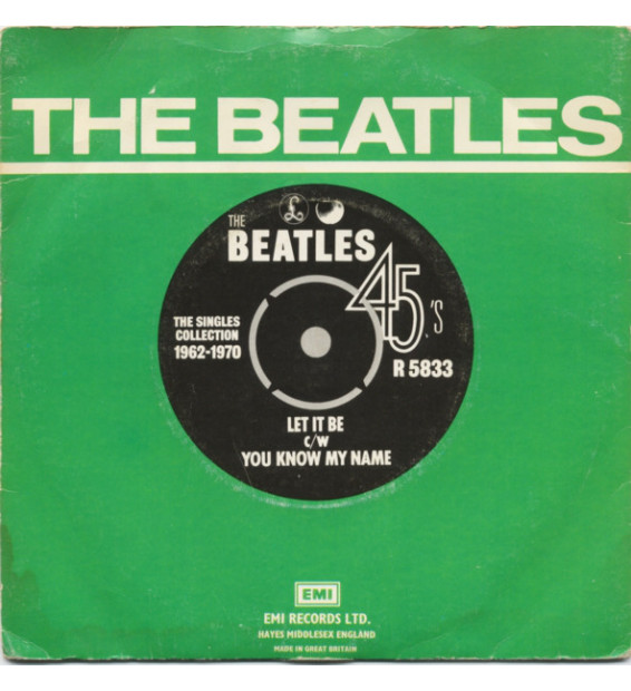 "The Beatles - Let It Be c/w You Know My Name (7"", Single, RE) mesvinyles.fr"