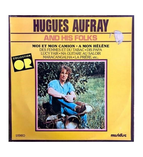 Hugues Aufray & His Folks* - Hugues Aufray & His Folks (LP, Album) mesvinyles.fr