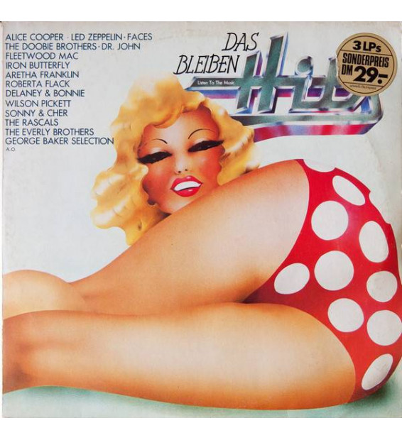 Various - Das Bleiben Hits (3xLP, Comp) mesvinyles.fr