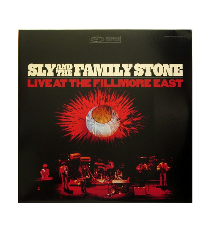 SLY AND THE FAMILY STONE – Live At The Fillmore East mesvinyles.fr