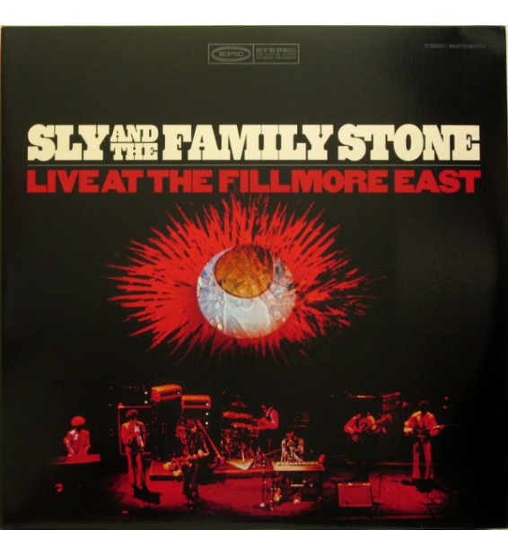 SLY AND THE FAMILY STONE ‎– Live At The Fillmore East