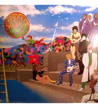 Prince And The Revolution - Around The World In A Day (LP, Album, RE, Gat)