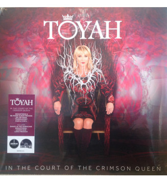 Toyah - In The Court Of The Crimson Queen (LP, Album, RM, Tra) Disquaire Day (RSD) mesvinyles.fr