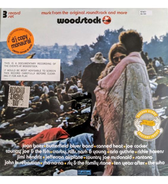 Various - Woodstock (3xLP, Album, Comp, Mono, Tri) mesvinyles.fr
