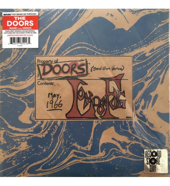"""Doors* - London Fog 1966 (10"""", Album, Ltd, Num) mesvinyles.fr"""