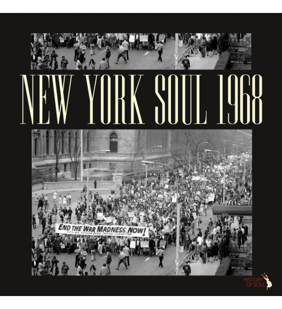 Various - New York Soul 1968 (LP, Album, Comp, Mono) mesvinyles.fr