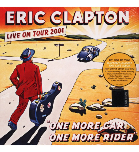 Eric Clapton - One More Car, One More Rider (3xLP, Ltd, RE, Cle)