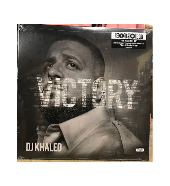 DJ Khaled - Victory (LP, Album, Ltd, RE, Gre) mesvinyles.fr