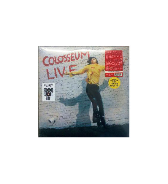 Colosseum - Live (2xLP, Album, Ltd, RE, S/Edition) mesvinyles.fr