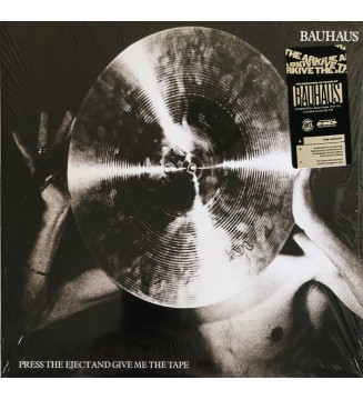 Bauhaus - Press The Eject And Give Me The Tape (LP, Album, Ltd, RE, RM, Whi) BLACK FRIDAY 2019 mesvinyles.fr