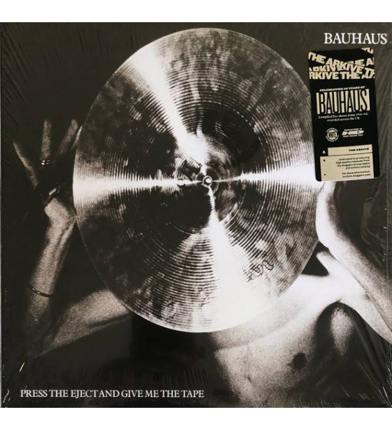 Bauhaus - Press The Eject And Give Me The Tape (LP, Album, Ltd, RE, RM, Whi) mesvinyles.fr