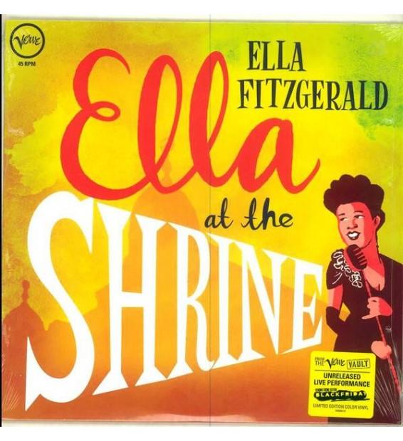 Ella Fitzgerald - Ella At The Shrine (LP, MiniAlbum)