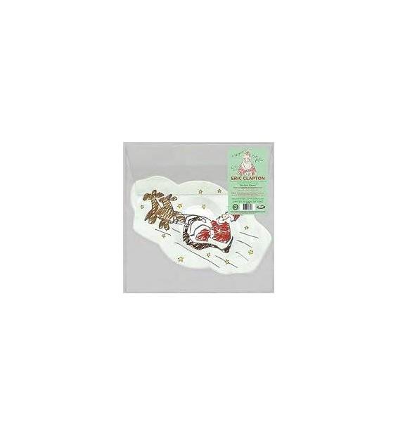 "Eric Clapton - A Little Bit of Christmas Love (12"", Shape, Single, Ltd, Pic) mesvinyles.fr"