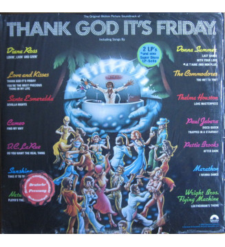 "Various - Thank God It's Friday (2xLP, Album + 12"", S/Sided) mesvinyles.fr"