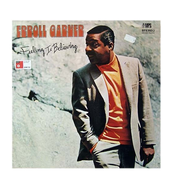 ERROLL GARNER ‎– Feeling Is Believing - Vinyle Occasion