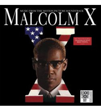 Various -  Malcolm X Music From The Motion Picture (LP, Album, Comp, RE, Red) mesvinyles.fr
