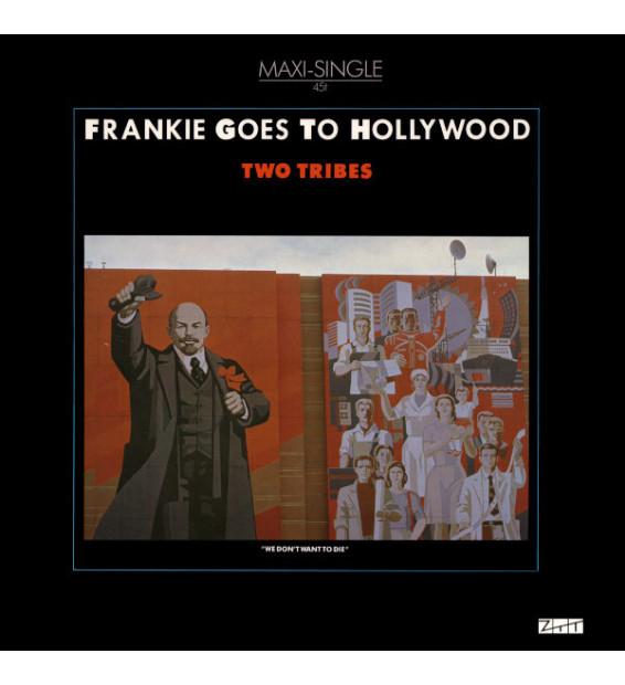 """Frankie Goes To Hollywood - Two Tribes (12"""", Maxi) mesvinyles.fr"""
