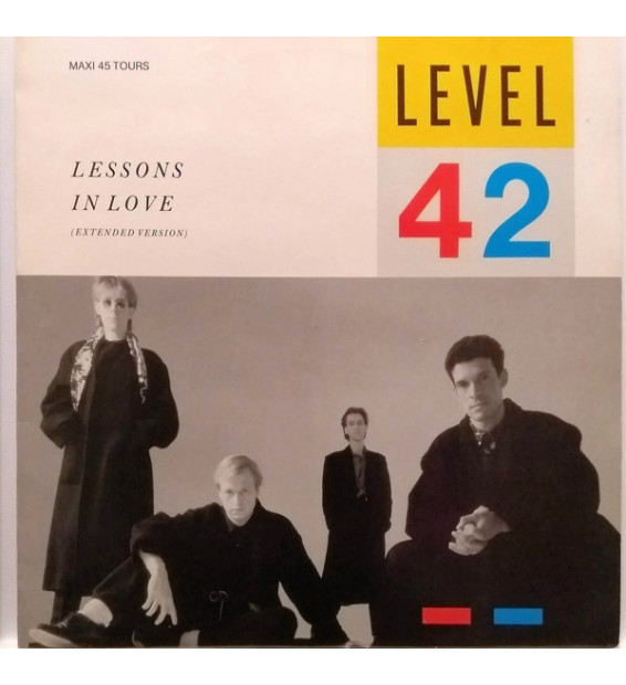 """Level 42 - Lessons In Love (Extended Version) (12"""", Maxi) mesvinyles.fr"""