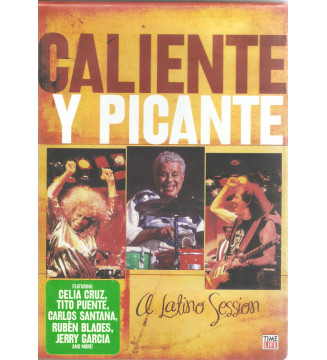 Various - Caliente Y Picante: A Latino Session (DVD, RM) mesvinyles.fr